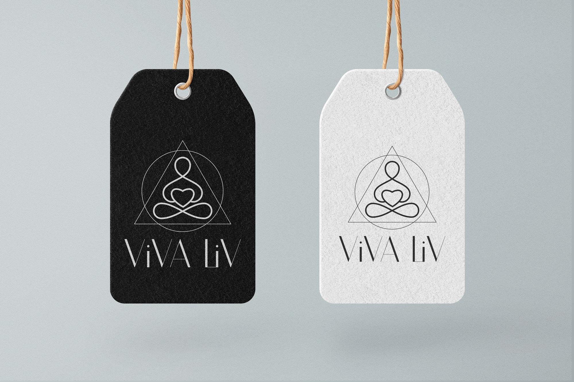 разработка логотипа йога бренд одежды