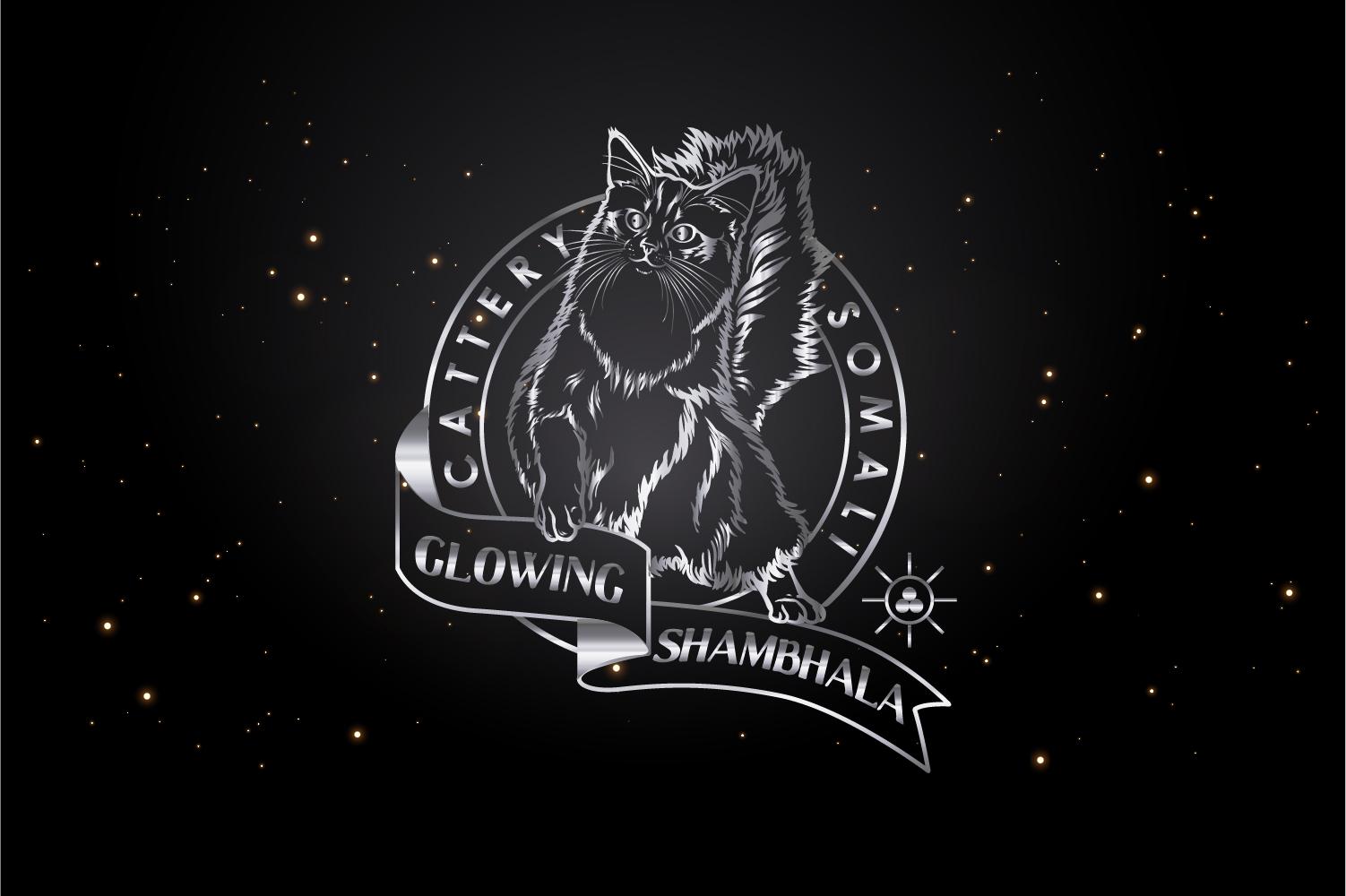 логотип питомник кошек сомали