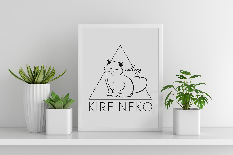 логотип питомника британских котов биколор