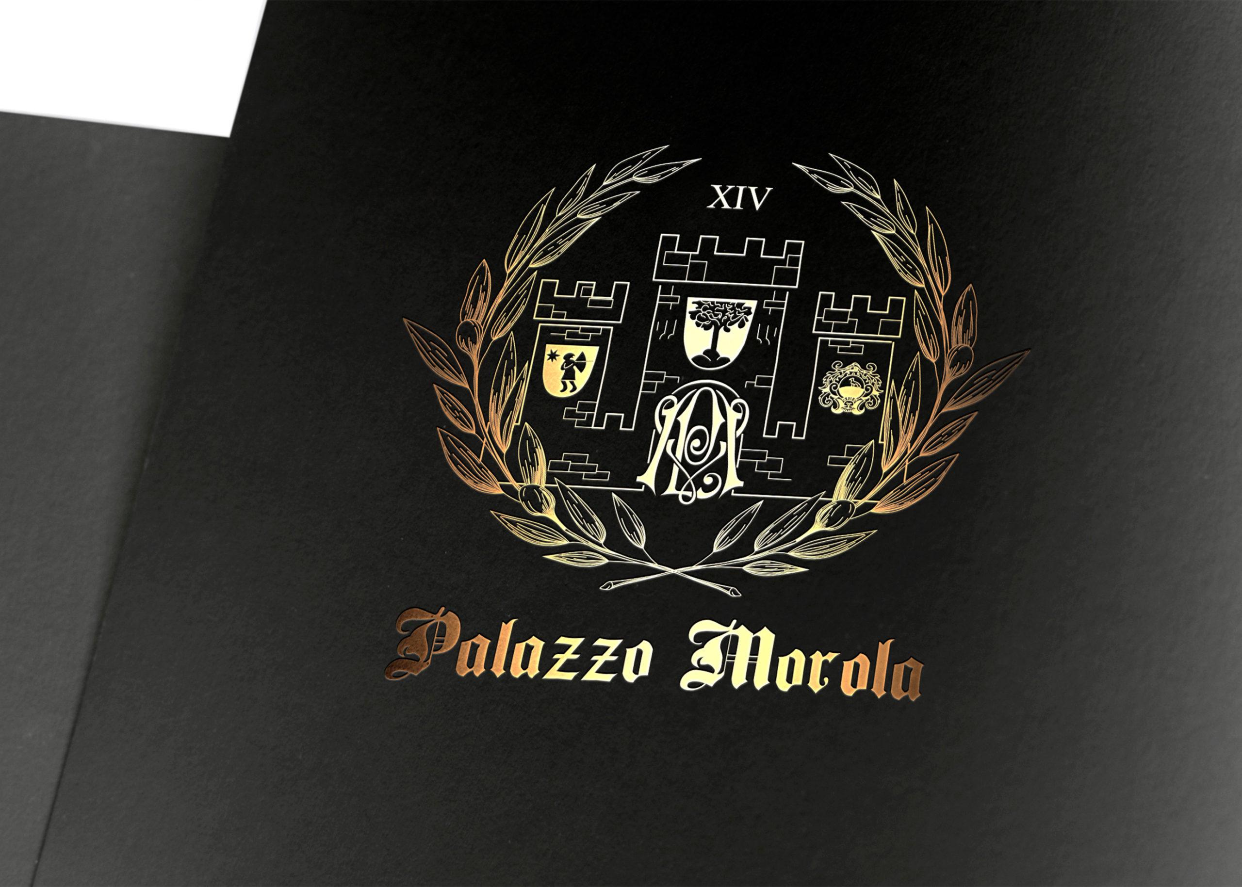 логотип с лавровыми листами