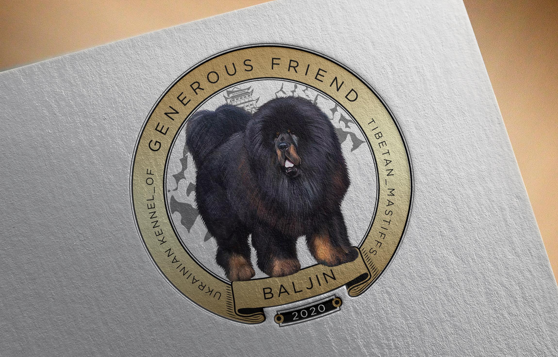 дизайн логотипа для питомника собак