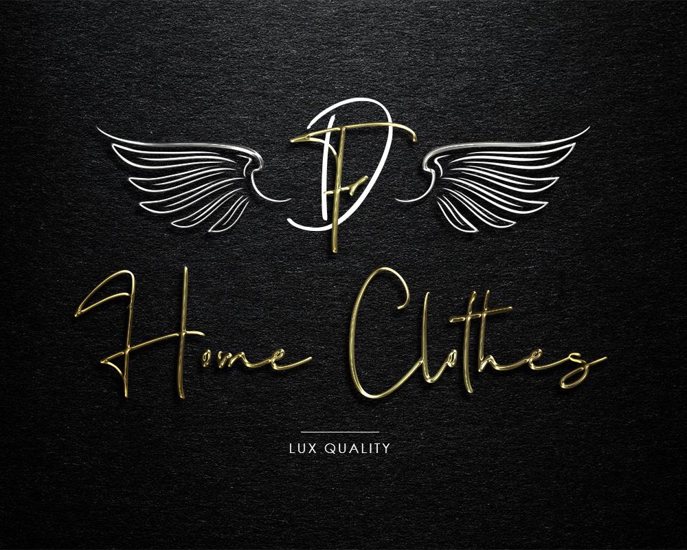 логотип дизайнера одежды для дома