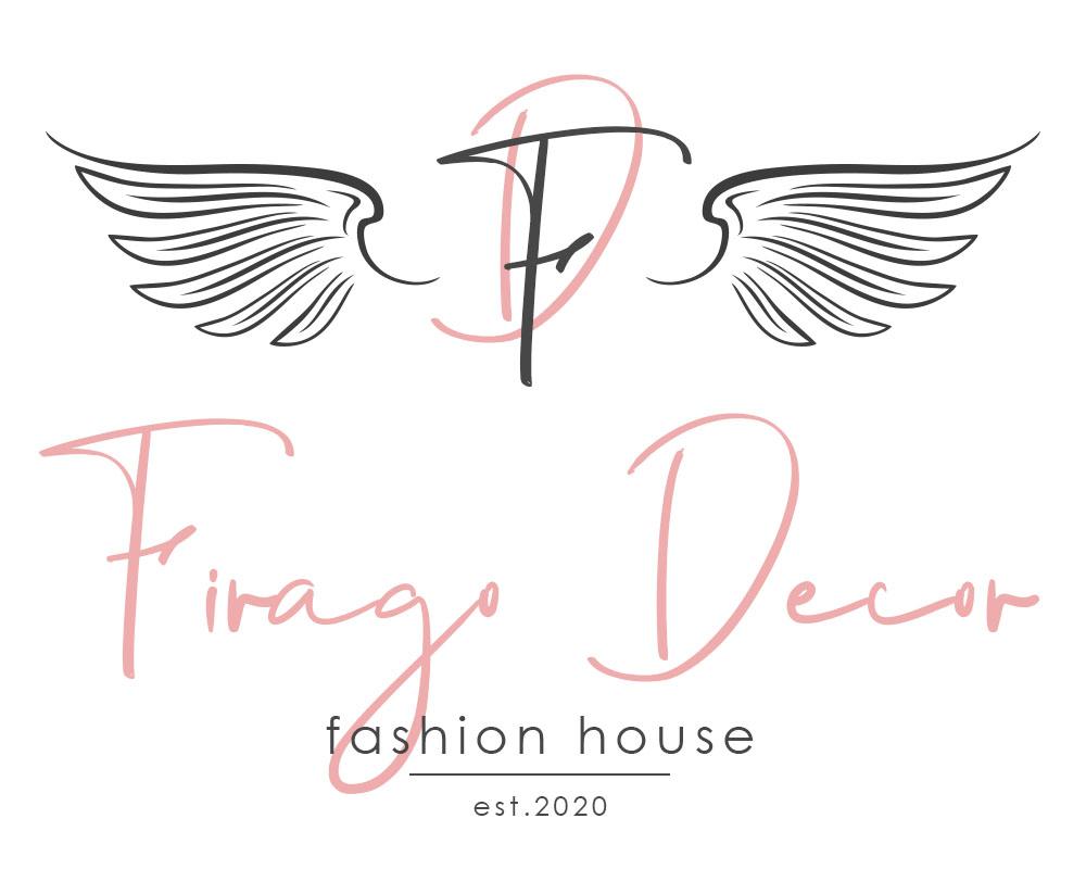 логотип с крыльями и инициалами