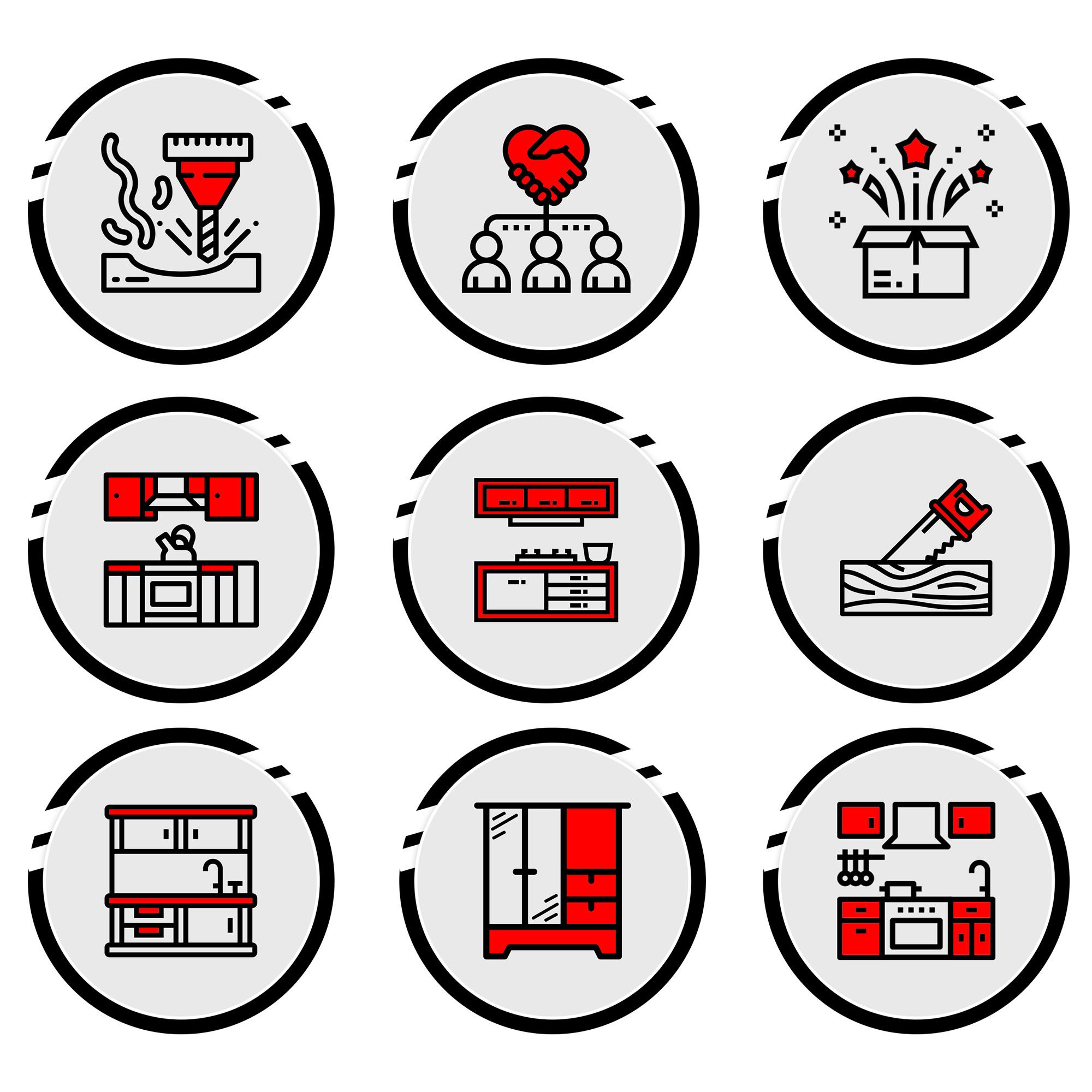 иконки в едином стиле для актуальных сторис инстаграм