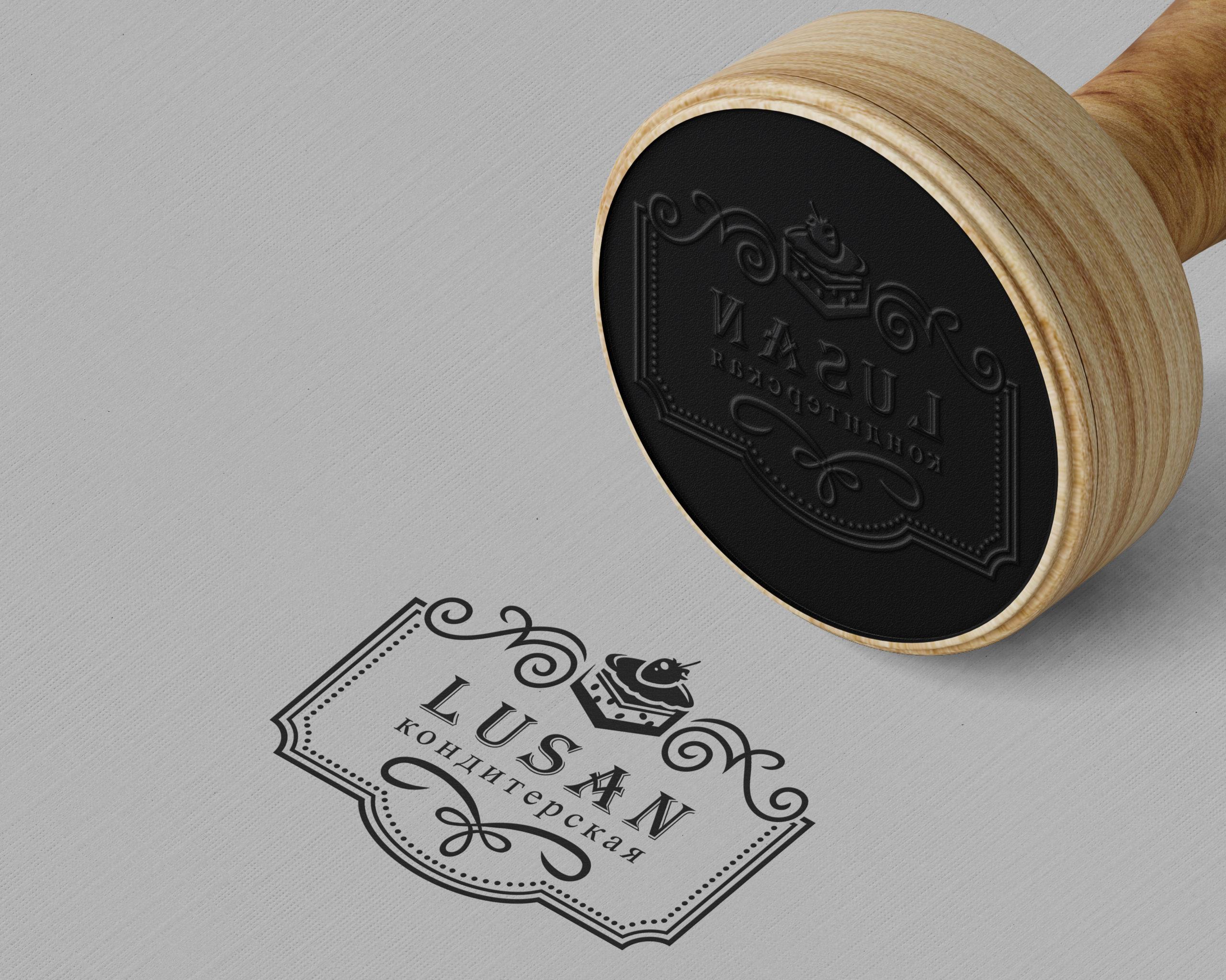 логотип кондитерской печать штамп